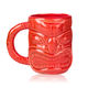 Libbey Ceramic Tiki Mug with Handle - 16 oz - Red