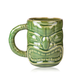 Libbey Ceramic Tiki Mug with Handle - 16 oz - Green