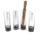 Artland Mojito Cocktail Glass Set - 5 Pieces