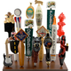 Beer Tap Handle Display Stand - Holds 15 Handles
