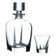 Badash Fusion Crystal Whiskey Decanter Set - 7 Pieces