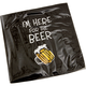 I'm Here For The Beer Beverage Napkins - Pack of 20
