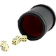 Professional Bar Dice Cup with Five Dice