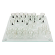 Chess Shot Glass Drinking Game Set - 33 Pieces