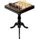 Deluxe Chess & Backgammon Table
