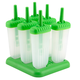 Tovolo Groovy Green Ice Pop Molds - Set of 6