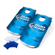 Bud Light Can Shaped Cornhole Bean Bag Toss Tailgating Game