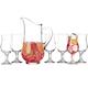 Libbey Sangria Pitcher & Glass Set - 7 Pieces