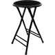 Cushioned Folding Bar Stool