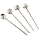 Stainless Steel Spoon Straws - Set of 4