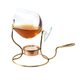Copper Brandy Warmer Set