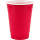 Red Plastic Beer Cups - 18 oz  - Bag of 252