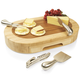 Picnic Time Oval Cheese Board and Knife Set