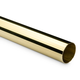 Bar Foot Rail Tubing - Polished Brass - 2