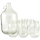 Libbey Country Folk Moonshine Drinking Jar & Jug Set - 8 Pieces