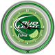 Bud Light Lime Neon Wall Clock