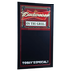 Budweiser On The Grill Write On Menu Chalkboard Bar Sign