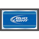 Bud Light Wood Frame Bar Wall Mirror