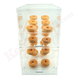 Acrylic Pastry - Donut Display Case - Four Shelves