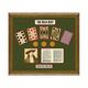 Old Wild West Gambling Framed Art