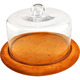 JK Adams Artisan Cheese Board with Glass Dome