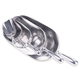 Aluminum Ice or Grain Scoop