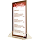 Acrylic Table Tent Menu Holders - 4