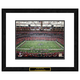 Atlanta Falcons NFL Framed Double Matted Stadium Print