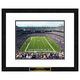 Baltimore Ravens NFL Framed Double Matted Stadium Print
