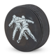 Hockey Puck Beer Bottle Opener - Hockey Fight Logo