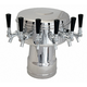 Mushroom Draft Beer Tower - Glycol Cooled - 4 to 6 Faucets