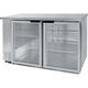 Beverage Air Back Bar Glass Door Refrigerator - 23.7 cu. ft.