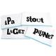 Beer Lovers Bar Towels - Set of 4