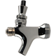 Self Closing Draft Beer Faucet with Stainless Steel Lever- Polished Chrome