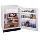 Summit Built-In Under Counter Refrigerator-Freezer - 5.3 cu. ft. - White