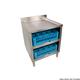 Stainless Steel Glass Rack Storage Shelf