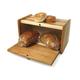 JK Adams Hickory Wood Bread Box