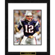 Tom Brady Framed Double Matted NFL Print