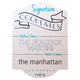 Signature Cocktails Personalized Bar Sign