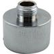 Single Sankey Flusher Fitting - Chrome Plated Brass