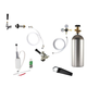 Deluxe Kegerator Conversion Kit - European Sankey S System - 5lb CO2 Tank