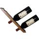 Handmade Wooden Double Wine Bottle Holder