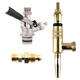Partial Guinness Conversion Kit - U System Coupler - Brass Faucet
