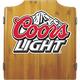 Coors Light Cabinet Dart Board