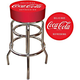 Coca-Cola Padded Bar Stool