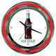 Coca-Cola Neon Wall Clock - Ice Cold