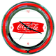 Coca-Cola Neon Wall Clock - Retro