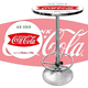 Vintage Coca-Cola Pub Table