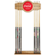 Coca-Cola Billiards Wooden Pool Cue Rack