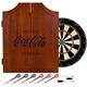 Coca-Cola Engraved Cabinet Dart Board